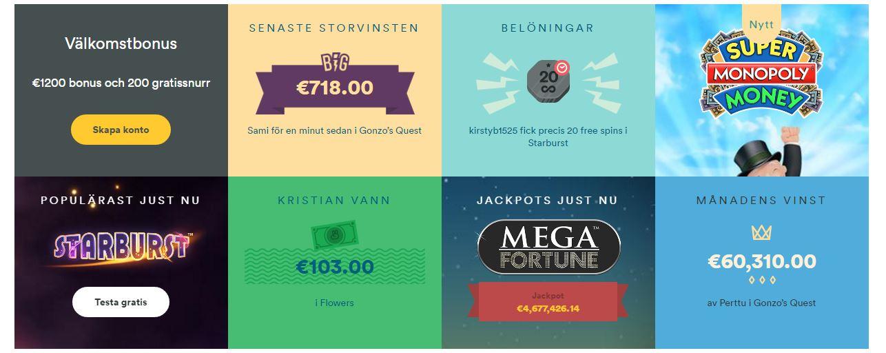 free spin no deposit bonus casino