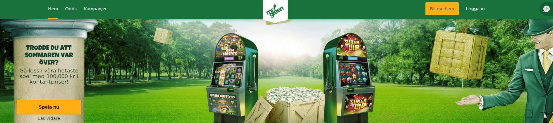 no deposit bonus mr green casino