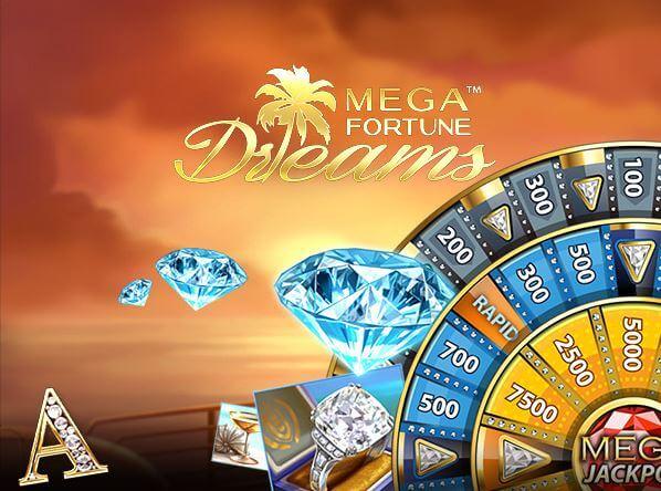 Mega Fortune Dreams Slot - Spela NetEnt spel online