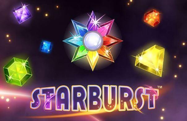 Starburst banner spelautomat