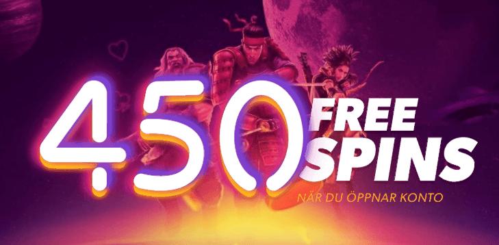Gratis free spins vid registrering 2019
