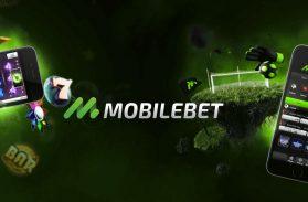 Två mobiler som visar slotsspelet starburst och en som visar mobilbet
