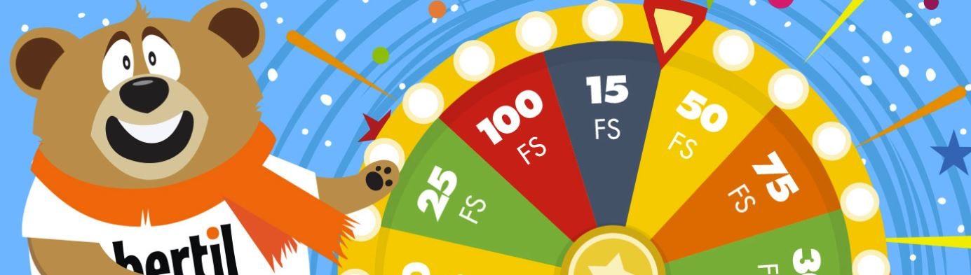 Bertil casinos freespins-hjul